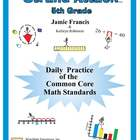Common Core Math Standards Worksheets - Grade 5