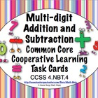 Common Core Math Task Cards - Addition and Subtraction CCS