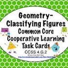 Common Core Math Task Cards Geometry - Classifying Figures
