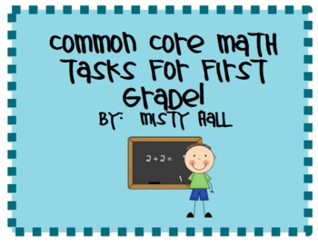 Common Core Math Tasks