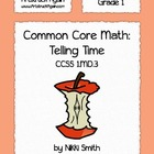 Common Core Math: Telling Time (Grade 1)