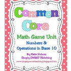 Common Core Math Tubs for First Grade (Numbers &amp; Operation