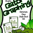 Common Core Math- Using a Bar Graph- Graphing Gators!