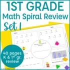 Common Core Math Warm Up/Morning Work- 1st Grade