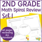 Common Core Math Warm Up- 2nd Grade
