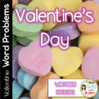 Common Core Math Word Problems for Valentine&#039;s Day