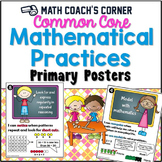 Standards for Mathematical Practice (CCSS) Posters, Primary