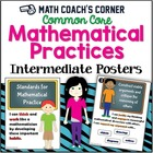 Common Core: Mathematical Practices Posters, Intermediate