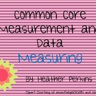 Common Core Measurement and Data Measuring
