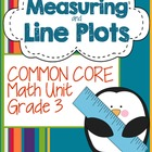 Common Core Measurement and Line Plot Unit- 3rd Grade