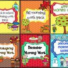 Common Core Morning Work Bundle #1