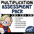 Common Core Multi-Digit Multiplication Assessment Pack