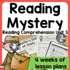 Gripping Character Study With Mystery (Genre) Unit of Stud