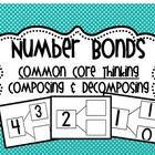 Common Core Number Bonds Cards