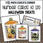 Common Core: Number Cards to 120, Halloween Treats w/Activities