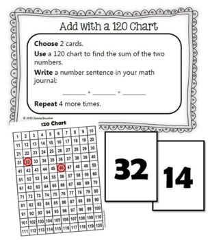 Common Core: Number Cards to 120, Workstation Activity Cards