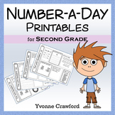 Common Core Number a Day Math Worksheets (second grade)