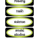 Common Core Objective Headers / Signs for Pocket Chart in