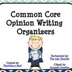 Common Core Opinion Writing Organizer