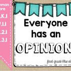 Common Core Opinion Writing for the Whole Year!