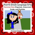 Common Core Organizer, Assessment Guide & Portfolio 4th Gr