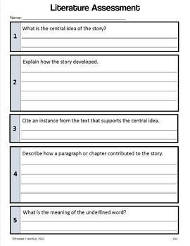 Common Core Organizer, Assessment Guide & Portfolio 6th Gr