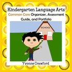Common Core Organizer, Assessment Guide, Portfolio Kinderg