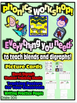 Common Core Phonics - Blends and Digraphs