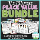 Common Core Place Value Activity Bundle with Choice Board