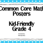 Common Core Posters - 4th Grade Math