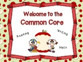 Common Core Presentation for Curriculum Night