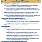 Common Core Quick Reference/Cards Math: Measurement and Da