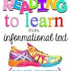 Common Core RIT: Reading Comprehension Sheets for 3-6 Info