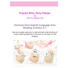 Common Core RL 3.1 CFA Priscilla Willa, Party Planner