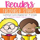 Common Core Reader&#039;s Response Sheets: Grade 1