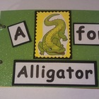 Common Core Reading: A for Alligator Word Family Book