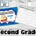 Common Core Reading Comprehension Activities for 2nd Grade