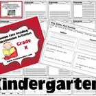 Common Core Reading Comprehension Activities for Kindergarten