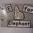 Common Core Reading: E for Elephant Word Family Book
