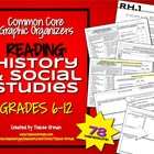 Common Core Reading History & Social Studies Graphic Organ