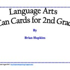 Common Core Reading I Can Cards for 2nd Grade