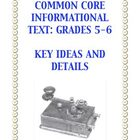 Common Core Reading: Informational Text Grades 5-6