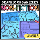 Informational Text Graphic Organizers for Grades 3-5