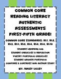 Common Core Reading Literacy Authentic Assessments {Differ