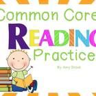 Common Core Reading Practices Posters for K-2