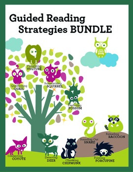 Common Core Guided Reading Strategies Unit