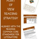 Common Core Reading Strategy Point of View Activities and Rubric