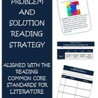 Common Core Reading Strategy Problem and Solution Activiti