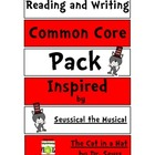Common Core Reading and Writing Inspired by Cat in the Hat