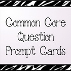Common Core Reading/Phonics Question Prompt Task Cards